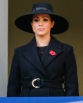 Meghan, Duchess of Sussex and HRH The Countess of Wessex attends the National Service of Remembrance at the Cenotaph on Sunday 10 November 2019