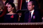 Catherine, Duchess of Cambridge and Prince William, Duke of Cambridge attend the annual Royal British Legion Festival of Remembrance at the Royal Albert Hall on November 09, 2019 in London, England.