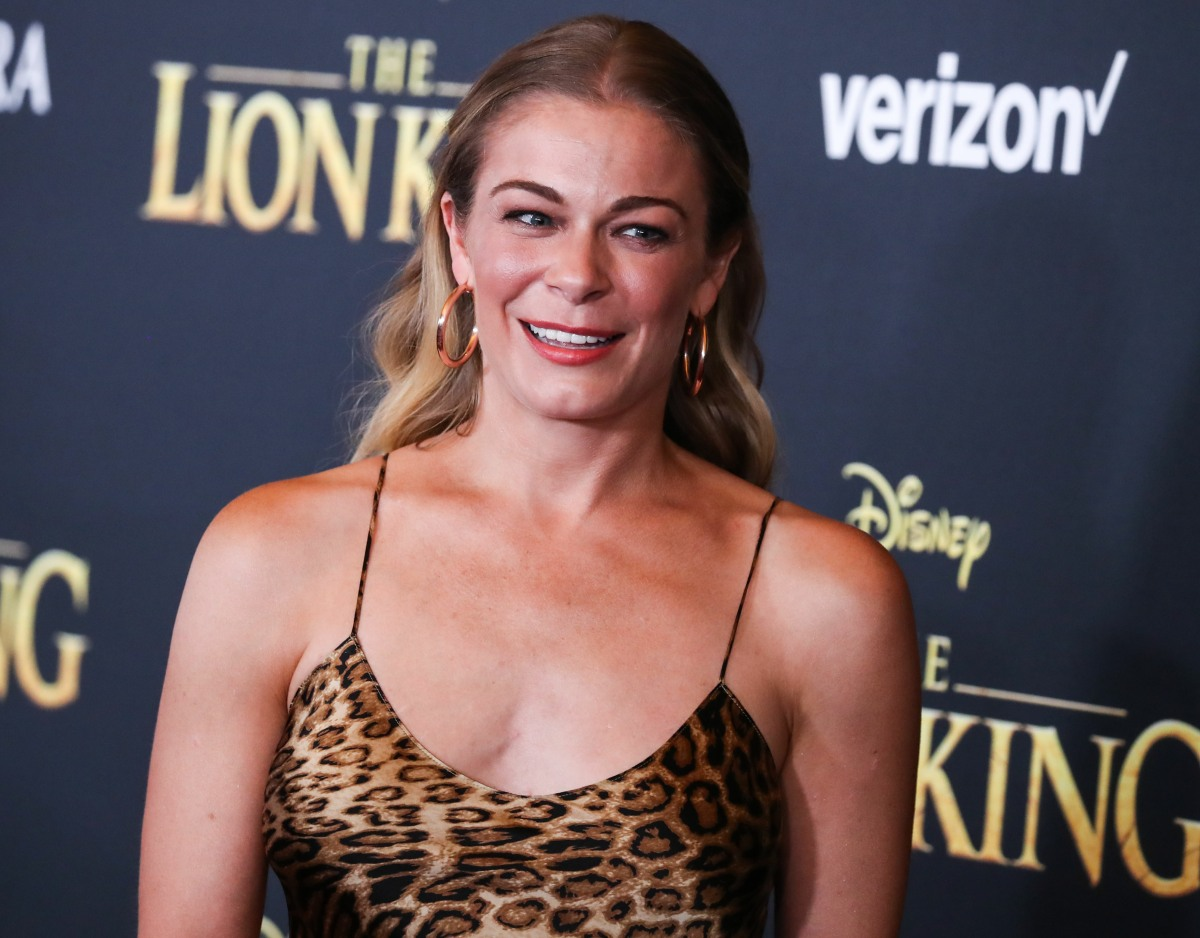 Singer LeAnn Rimes arrives at the World Premiere Of Disney's 'The Lion King' held at the Dolby Theatre on July 9, 2019 in Hollywood, Los Angeles, California, United States. (Photo by Xavier Collin/Image Press Agency)