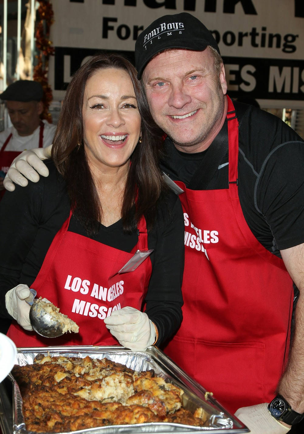 2014 LA Mission's Annual Thanksgiving for the Homeless