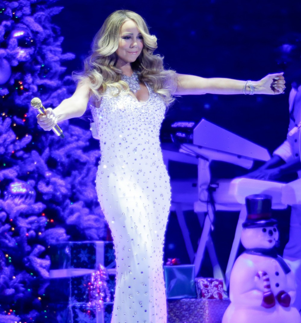 Hallmark Channel presents Mariah Carey 'All I Want For Christmas Is You' concert