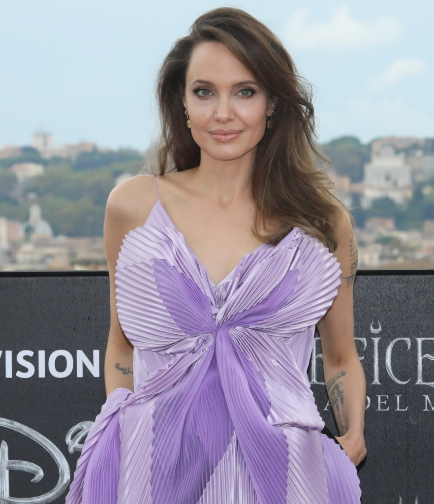 "Rome, photocall film ""Maleficent"""