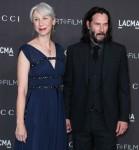 Alexandra Grant e Keanu Reeves arrivano al LACMA Art + Film Gala 2019 tenutosi al Los Angeles County Museum of Art il 2 novembre 2019 a Los Angeles, California, Stati Uniti.