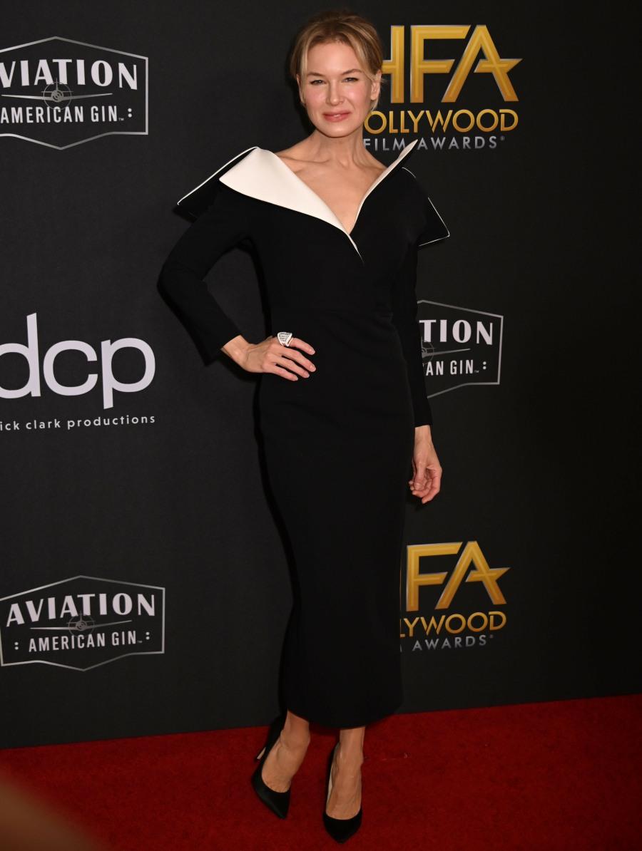 Renee Zellweger attends the 23rd Annual Hollywood Film Awards at The Beverly Hilton Hotel on November 03, 2019 in Beverly Hills © J Graylock/jpistudios.com