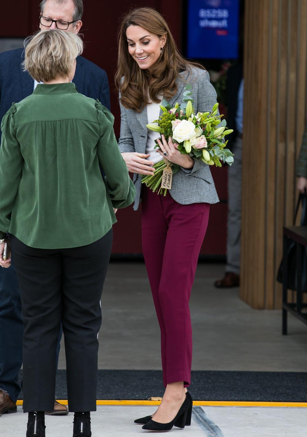Il duca e la duchessa di Cambridge partecipano alle celebrazioni dei volontari