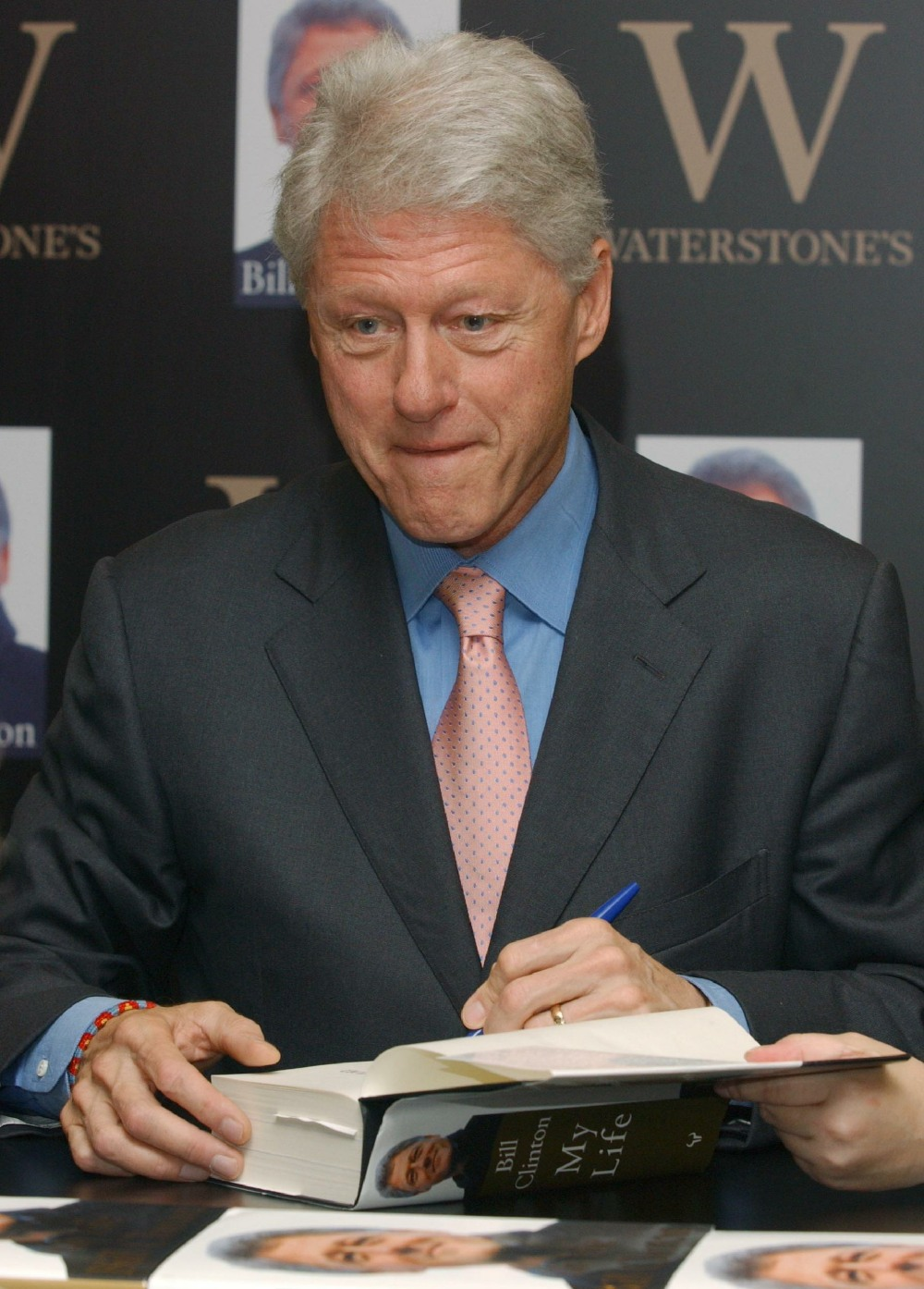Bill Clinton Book Signing