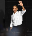 Former President Obama Campaigns for Florida Democrats Gillum and Nelson In Miami
