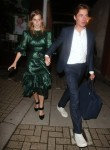 Princess Beatrice and Edoardo Mozzi leave Dior Party in Notting Hill