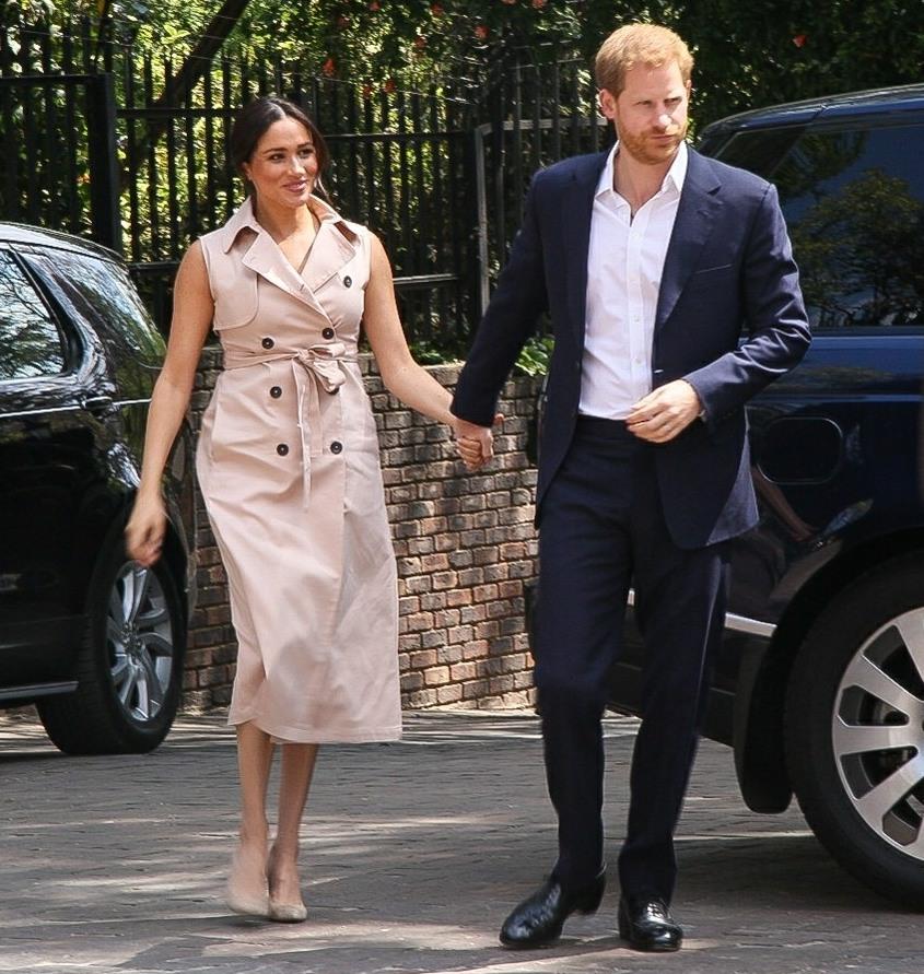 Prince Harry and Meghan Markle visit to Johannesburg