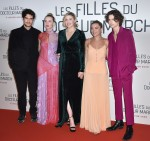 """Celebs attend the Premiere of the film """"The girls of Dr. March"""" in Paris"""