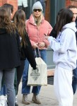 Gwyneth Paltrow goes Christmas shopping with a group of friends in Aspen