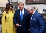 The Prince Of Wales Hosts US President Donald Trump For Tea