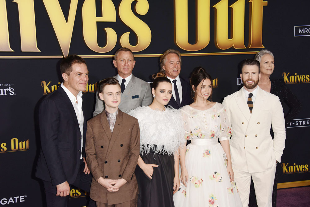 Knives Out Los Angeles Premiere