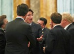 Nato Leaders Reception Buckingham Palace