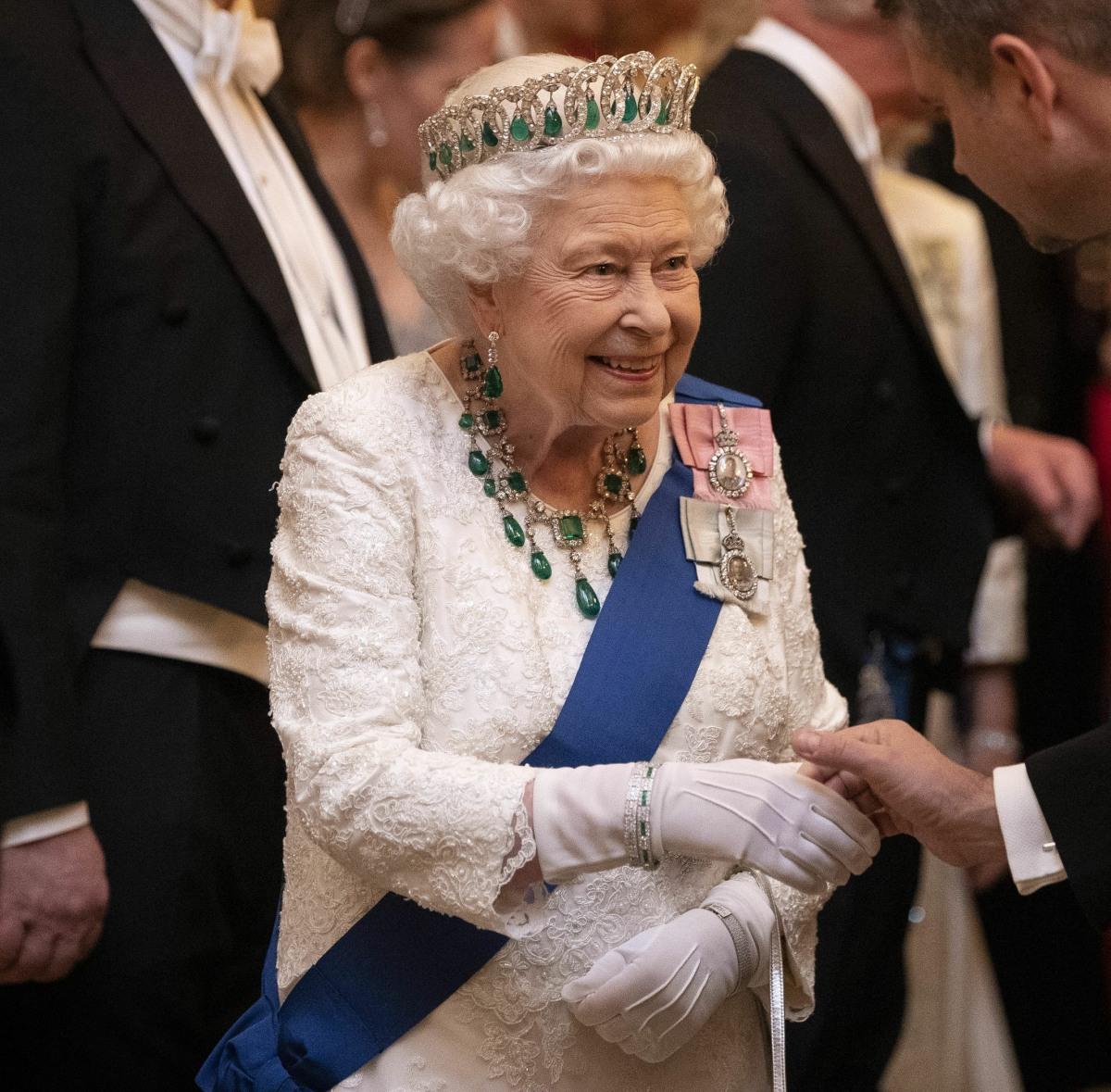 Buckingham Palace diplomatic reception