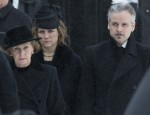 Funeral of King Harald's brother-in-law