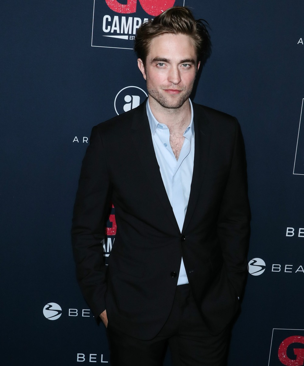 Actor Robert Pattinson arrives at the 13th Annual GO Campaign Gala 2019 held at NeueHouse Hollywood on November 16, 2019 in Hollywood, Los Angeles, California, United States.