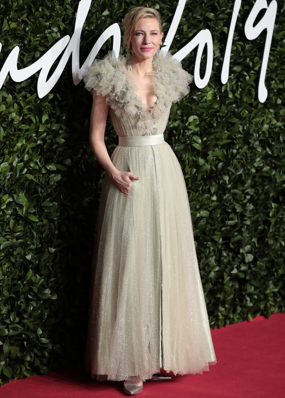 Cate Blanchett in Armani at the British Fashion Awards: stunning or blah?