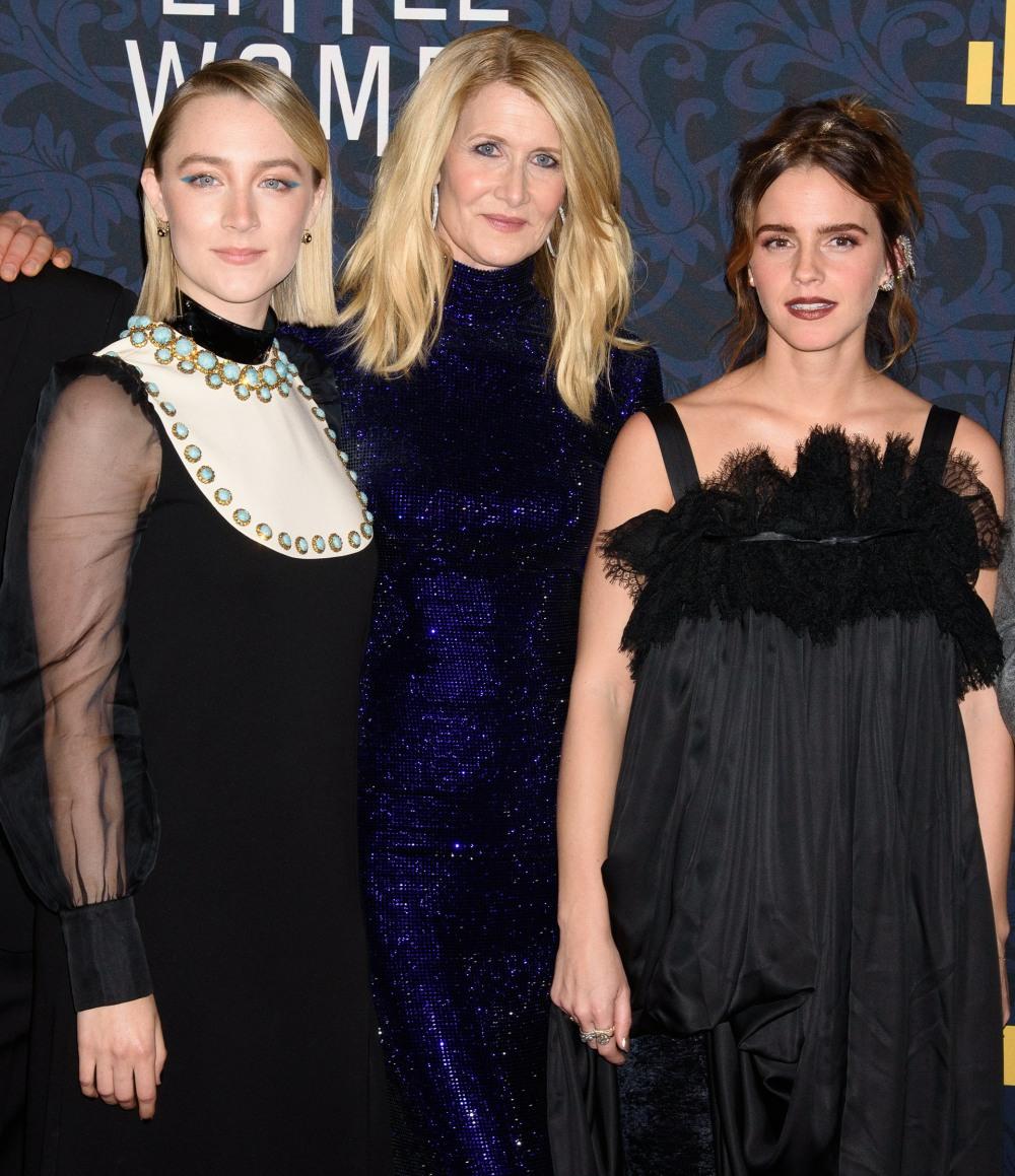 Saoirse Ronan, Laura Dern, Emma Watson a...