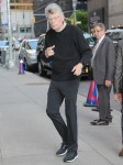 Stephen King arrives at 'The Late Show With Stephen Colbert'