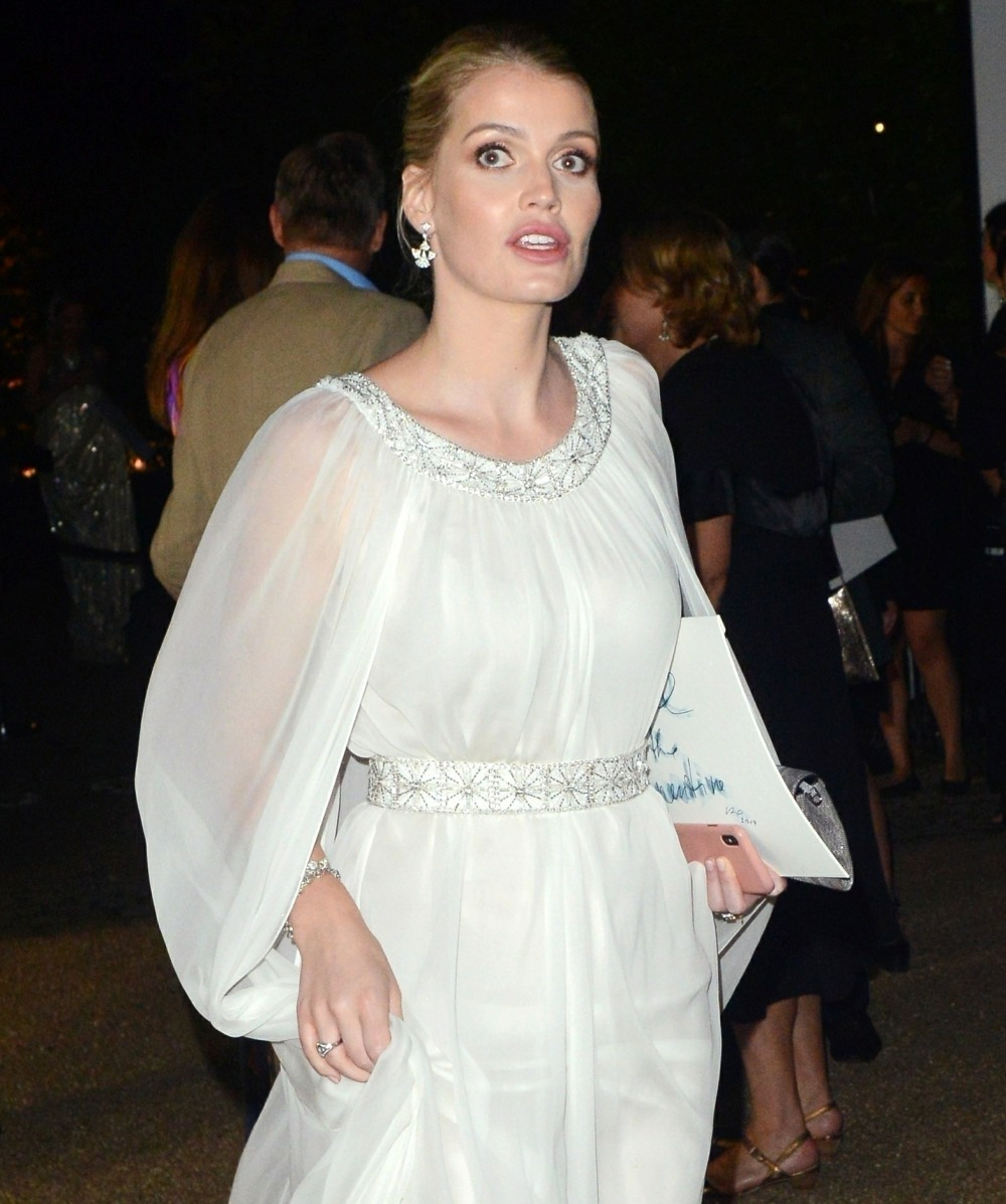 Lady Kitty Spencer at The Summer Party 2019 Serpentine Galleries