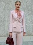 Lady Kitty Spencer seen leaving Alberta Ferretti during MFW SS 2020