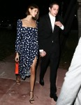 Pete Davidson and Kaia Gerber attend a wedding in Miami!