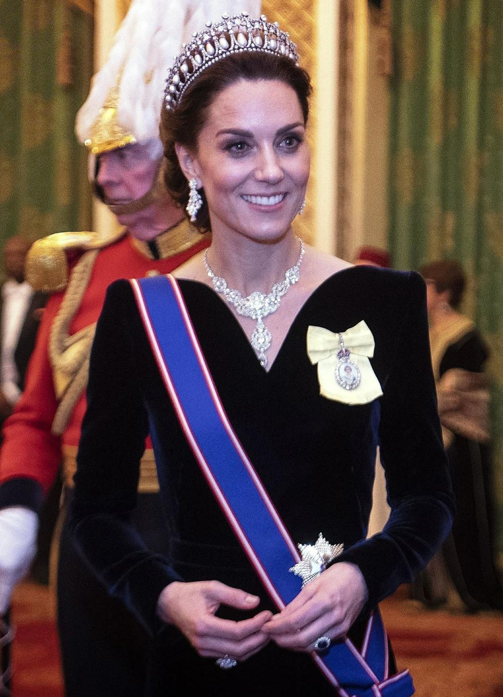 La ricezione diplomatica della regina