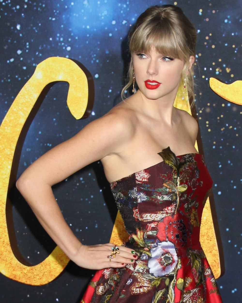 "Taylor Swift alla premiere mondiale ""Cats"""