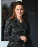 Catherine, Duchess of Cambridge Visits The National Portrait Gallery Workshop