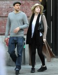 Charlie Hunnam and Morgana McNelis go for a walk in NYC