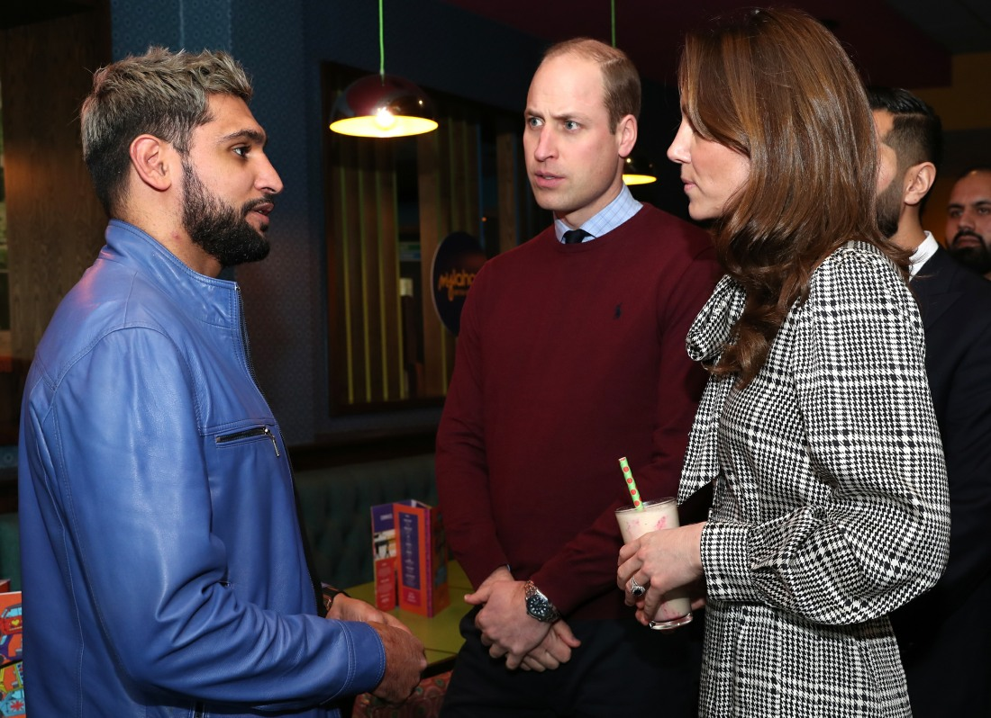 Il duca e la duchessa di Cambridge visitano Bradford