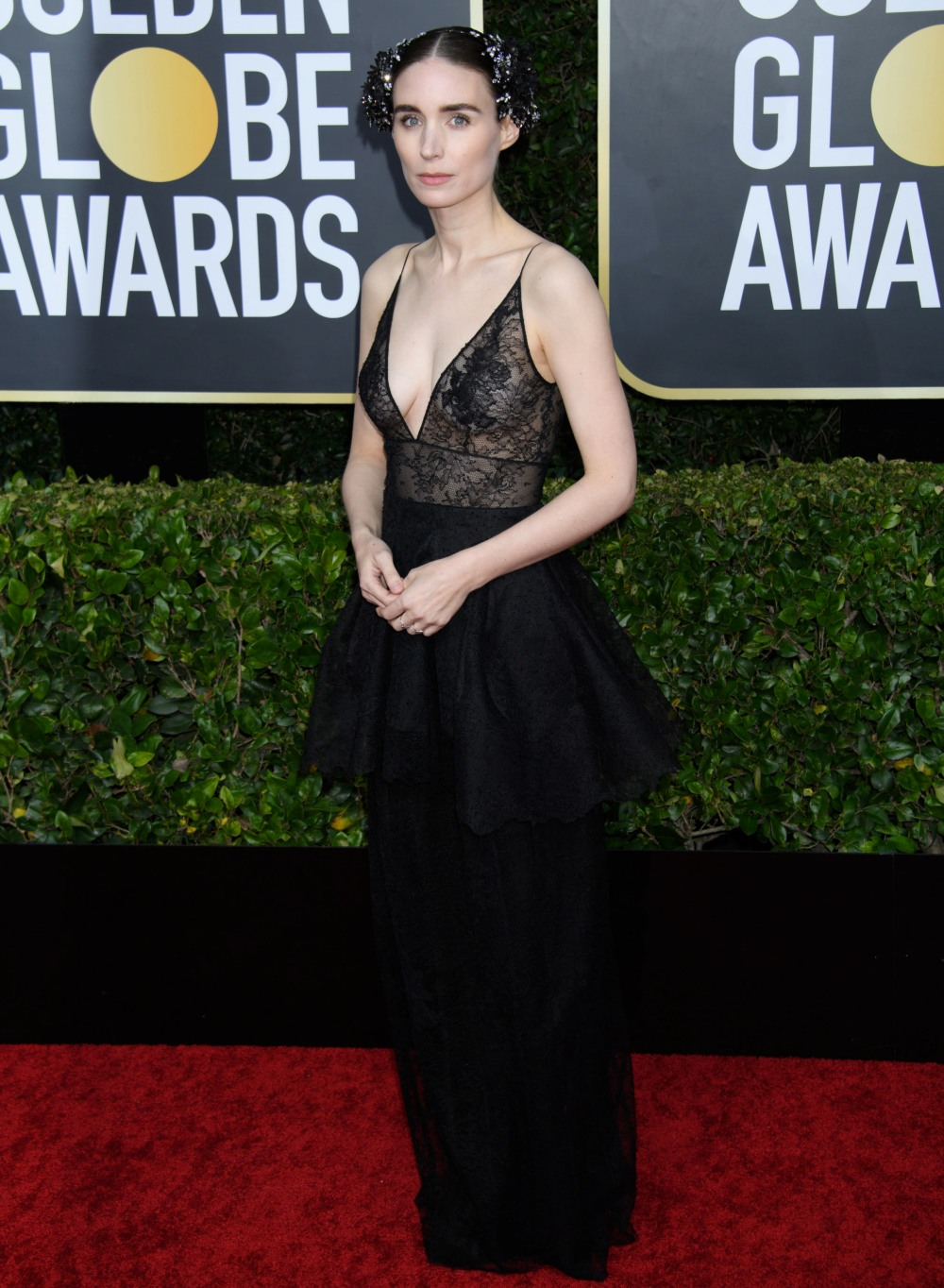 Rooney Mara arrives at the 77th Annual Golden Globe Awards at the Beverly Hilton in Beverly Hills, CA on Sunday, January 5, 2020.