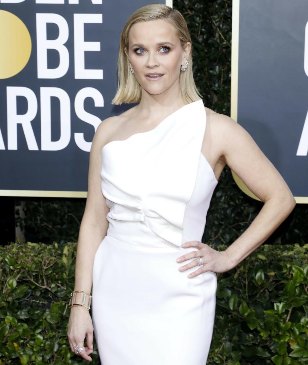 Reese Witherspoon frequentando il 77 ° Golden Globe Awards presso il Beverly Hilton Hotel il 5 gennaio 2020 a Beverly Hills, in California. | utilizzo in tutto il mondo