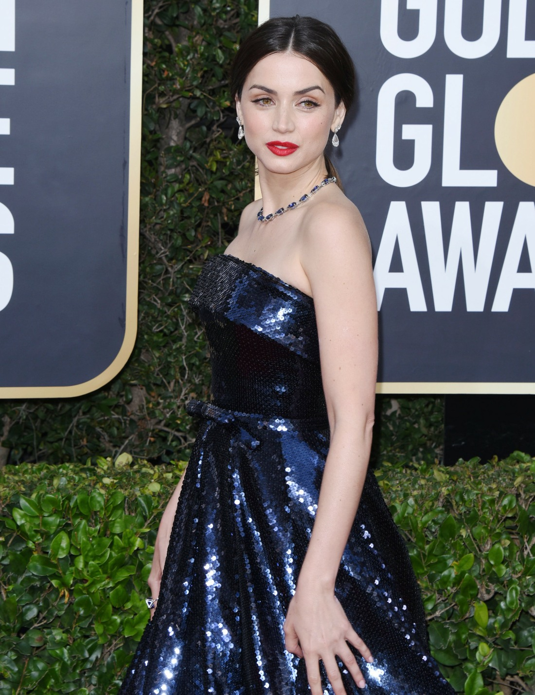 Ana de Armas attends the 77th Annual Golden Globe Awards at The Beverly Hilton Hotel on January 05, 2020 in Beverly Hills, California© Jill Johnson/jpistudios.com