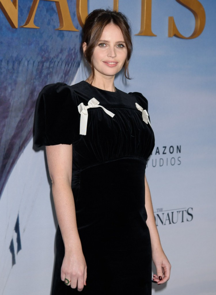Felicity Jones at arrivals for THE AERON...