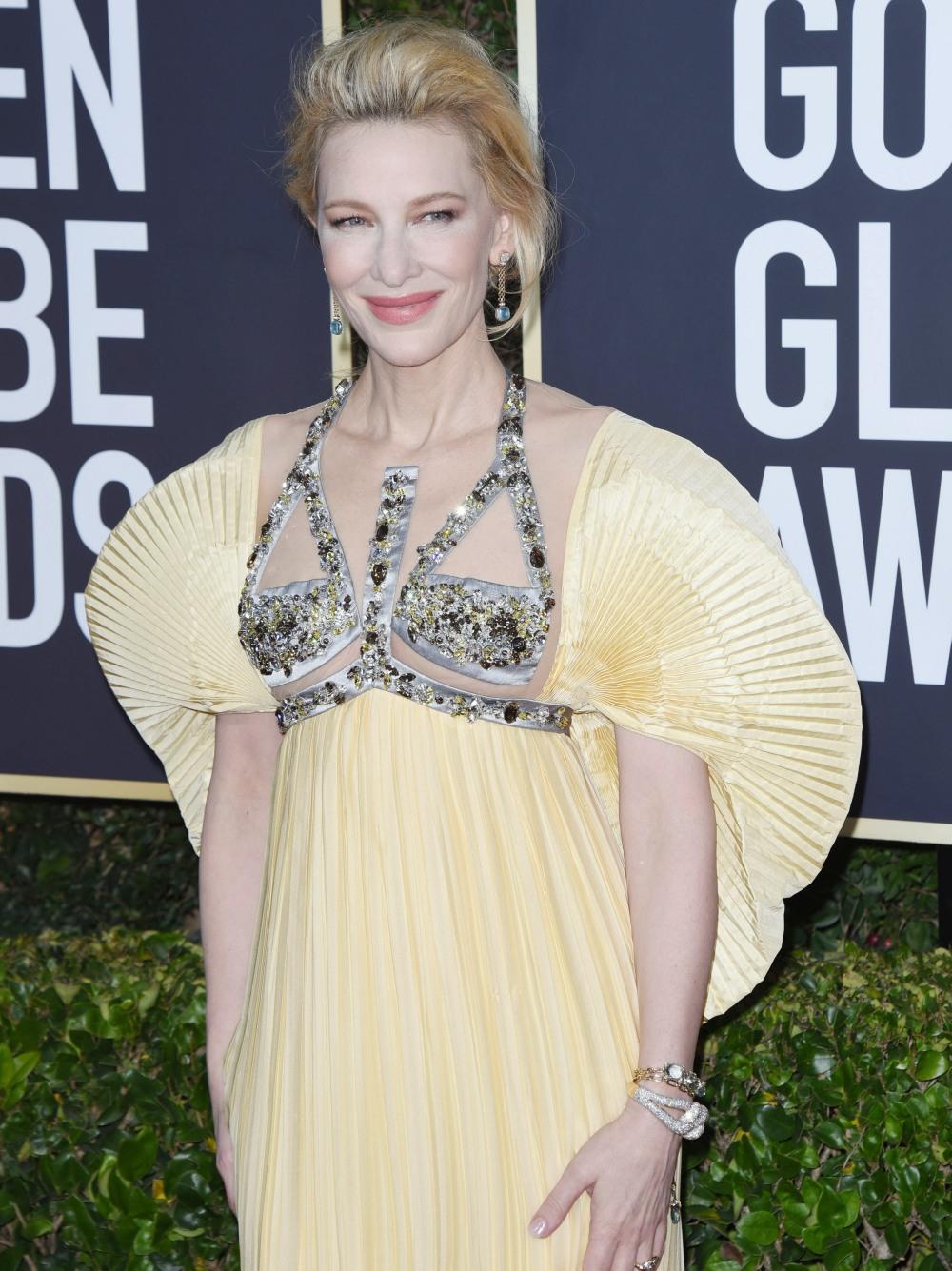 Cate Blanchett attends the 77th Annual Golden Globe Awards at The Beverly Hilton Hotel on January 05, 2020 in Beverly Hills, California © Jill Johnson/jpistudios.com