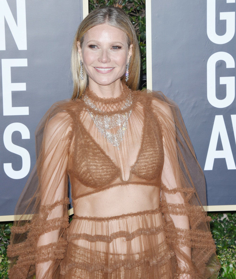 Gwyneth Paltrow attends the 77th Annual Golden Globe Awards at The Beverly Hilton Hotel on January 05, 2020 in Beverly Hills, California© Jill Johnson/jpistudios.com