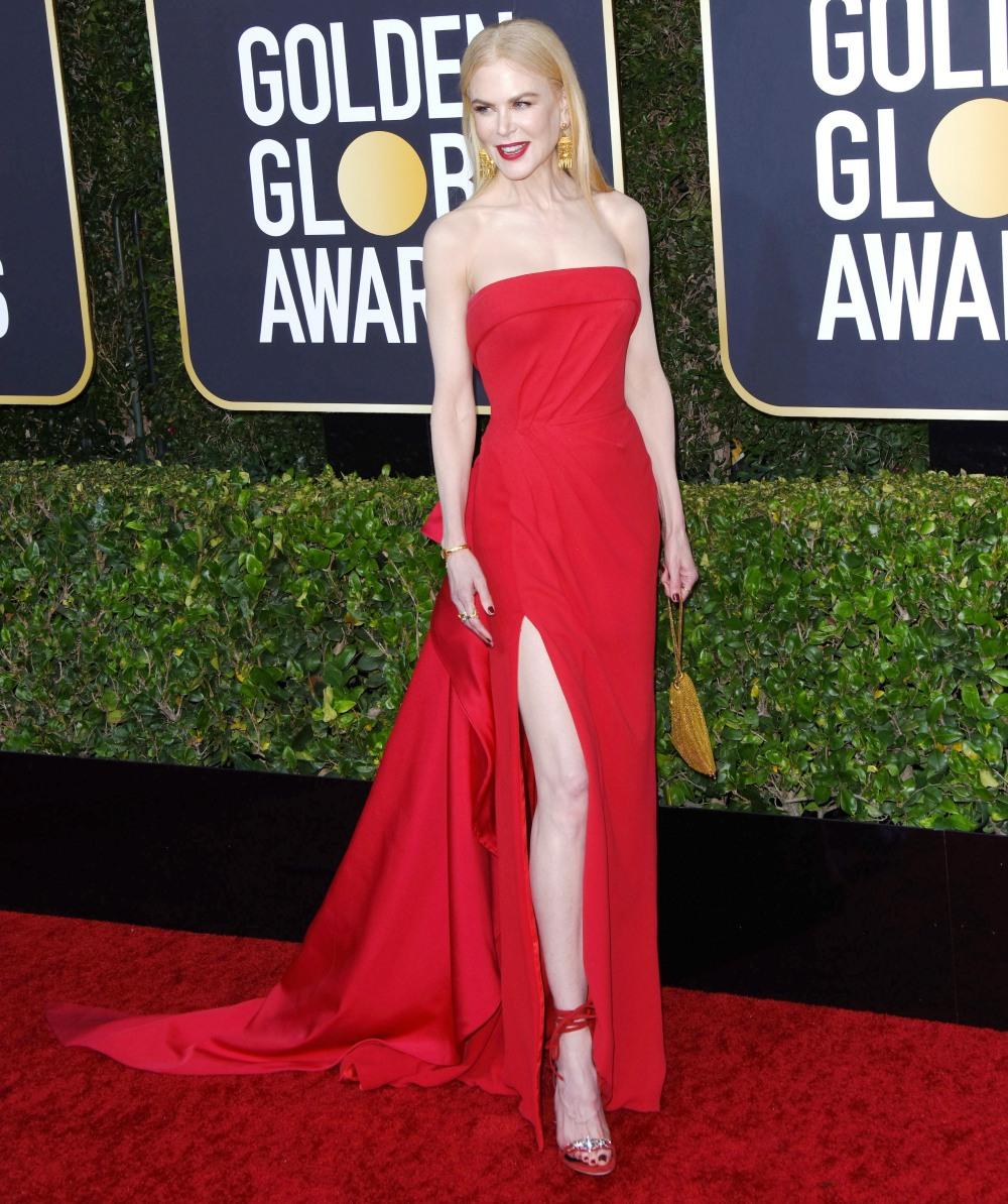 Nicole Kidman attends the 77th Annual Golden Globe Awards at The Beverly Hilton Hotel on January 05, 2020 in Beverly Hills, California © Jill Johnson/jpistudios.com