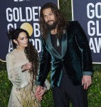 Lisa Bonet, Jason Momoa attends the 77th Annual Golden Globe Awards at The Beverly Hilton Hotel on January 05, 2020 in Beverly Hills, California