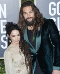 Lisa Bonet, Jason Momoa attends the 77th Annual Golden Globe Awards at The Beverly Hilton Hotel on January 05, 2020 in Beverly Hills, California© Jill Johnson/jpistudios.com