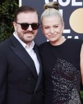 Ricky Gervais attends the 77th Annual Golden Globe Awards at The Beverly Hilton Hotel on January 05, 2020 in Beverly Hills, California© Jill Johnson/jpistudios.com