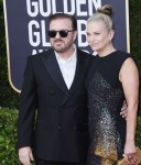 Ricky Gervais attends the 77th Annual Golden Globe Awards at The Beverly Hilton Hotel on January 05, 2020 in Beverly Hills, California