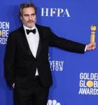 Joaquin Phoenix pone nella sala stampa alla 77a edizione del Golden Globe Awards tenutosi presso il Beverly Hilton Hotel il 5 gennaio 2020 a Beverly Hills, Los Angeles, California, Stati Uniti.