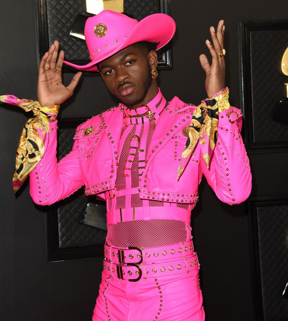 Lil Nas X at arrivals for 62nd Annual Gr...