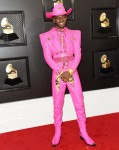 Lil Nas X arrives at the 62nd Annual GRAMMY Awards at Staples Center on January 26, 2020 in Los Angeles, California