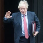 PM parte per i PMQ - mercoledì 29 gennaio - Downing Street, Londra