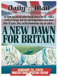 UK's Front Pages on BREXIT Day