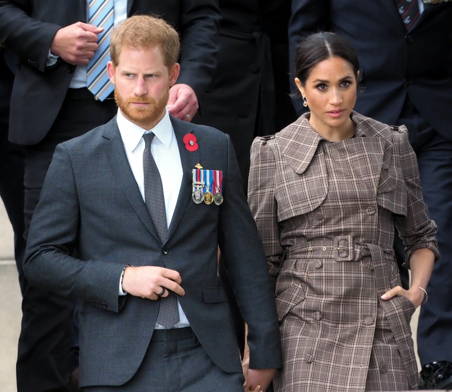 Duke and Duchess os Sussex arrive in New Zealand!