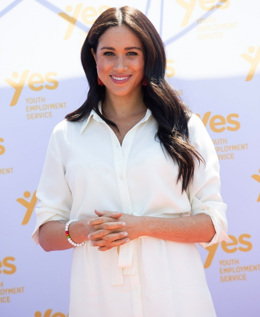 Meghan Markle and Prince Harry visit Tembisa Township on the outskirts of Johannesburg during day 10 of their South African Tour